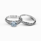 Simon G MR1691-A WEDDING SET