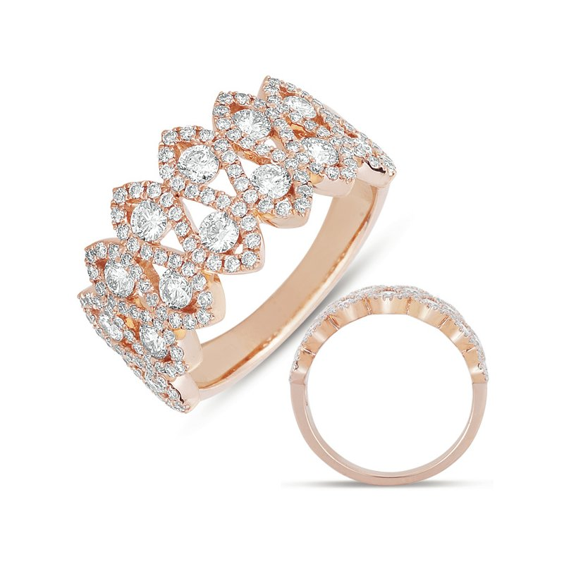 Briana Rose Gold Fashion Ring