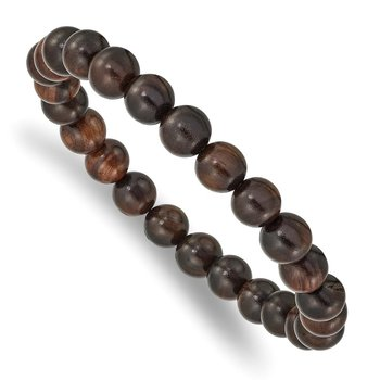Stretch Bed Red Sandalwood Bracelet