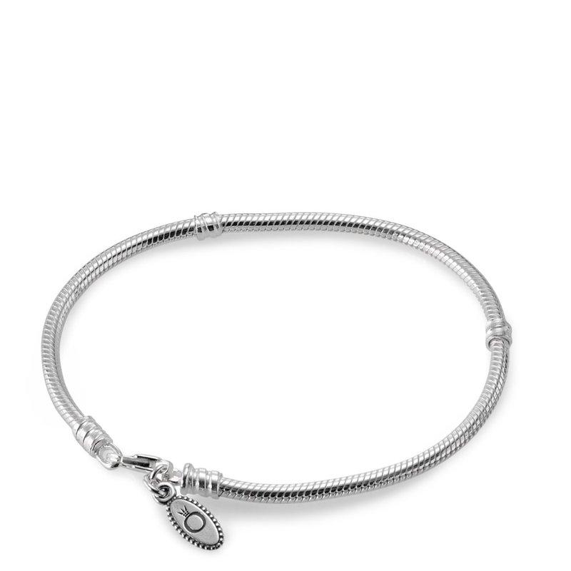 d66524f58 Taylor's Jewellery Shop: PANDORA Silver Charm Bracelet With Lobster ...