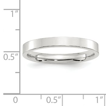 SS 3mm Comfort Fit Flat Size 10 Band