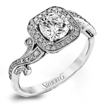 TR524 ENGAGEMENT RING