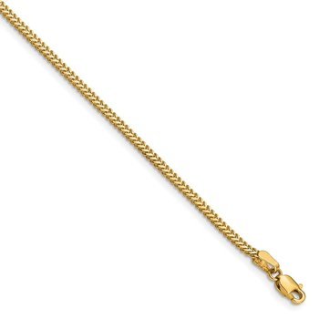 14k 1.4mm Franco Chain