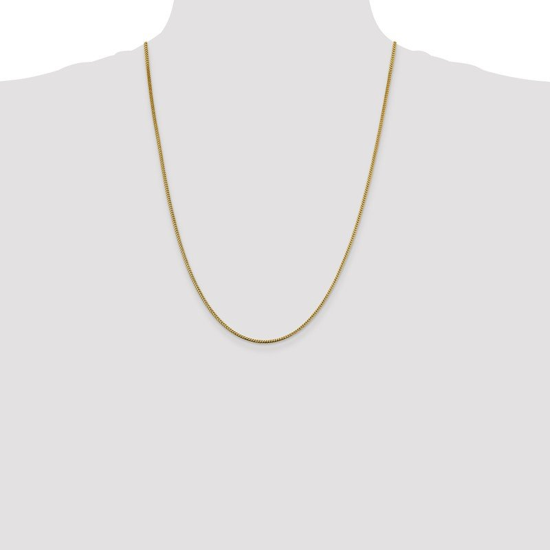 Quality Gold 14k 1.4mm Franco Chain