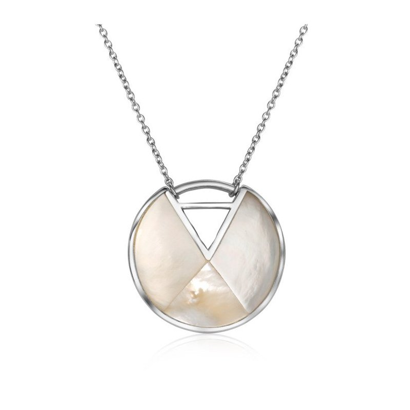 LARUS Jewelry White Shell Necklace