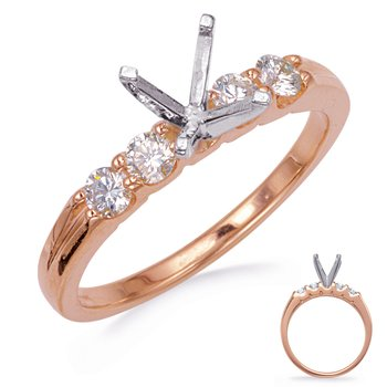 RoseGold Engagement Ring