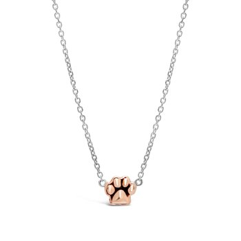 Rose Classic Paw Necklace