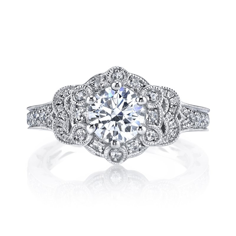 MARS Jewelry MARS 26011 Diamond Engagement Ring 0.50 Ctw.