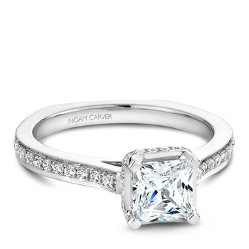 Noam Carver Fancy Engagement Ring B041-02A