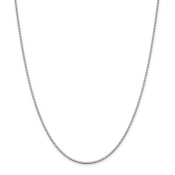 Sterling Silver 1.4mm Box Chain