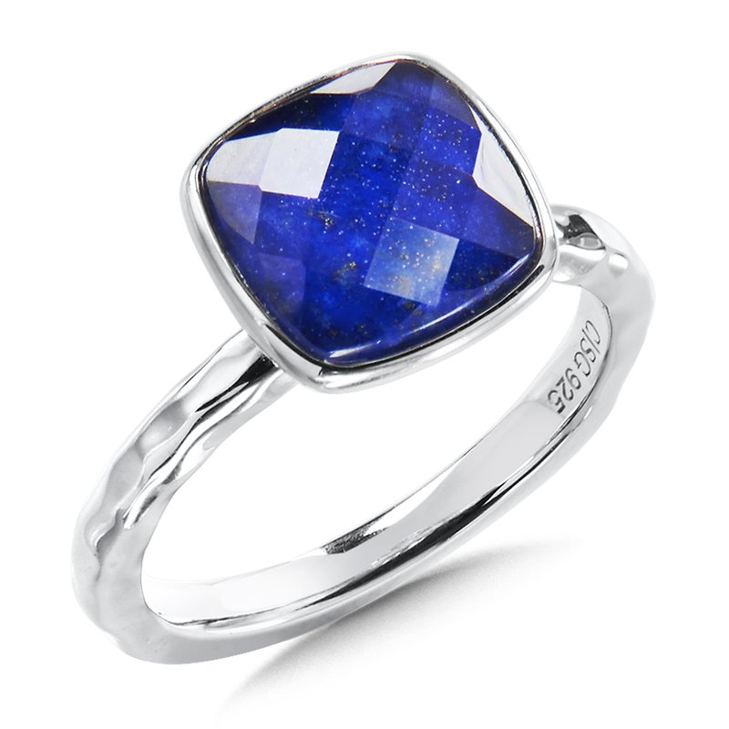 Colore Sg Sterling Silver Lapis Fuison Ring