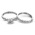 Simon G MR2399 WEDDING SET