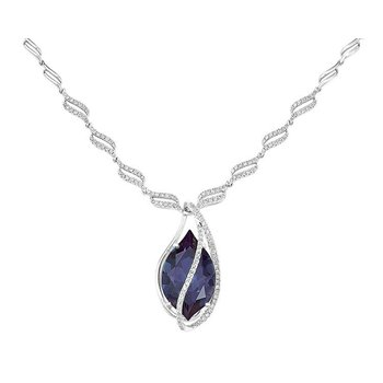 Alexandrite Necklace-CN1246WAL