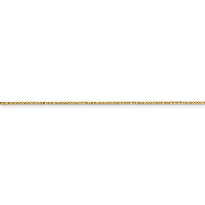 Leslie's 14K .8mm Baby Spiga (Wheat) Chain