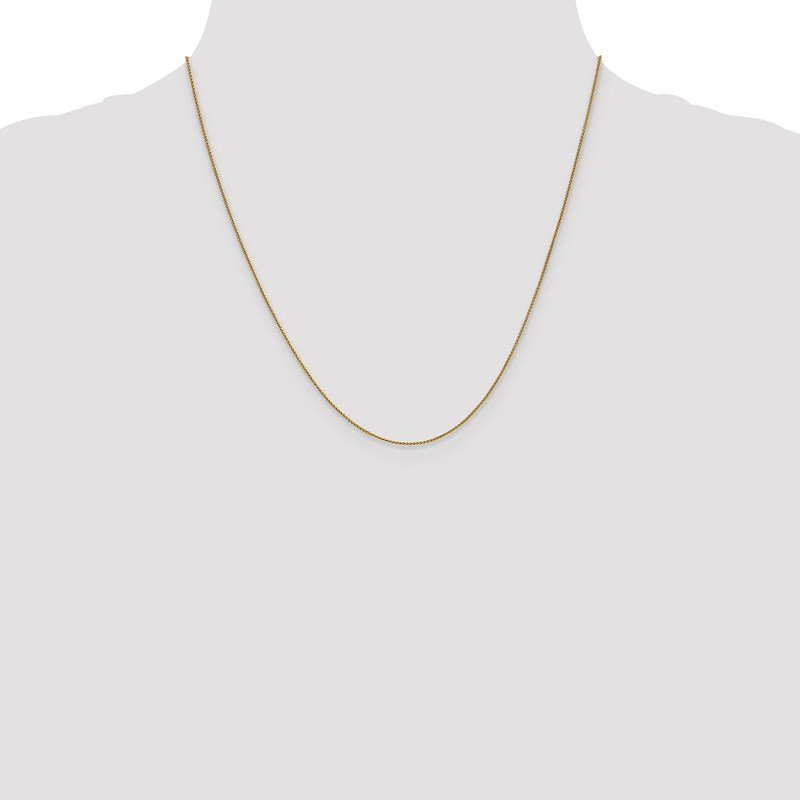 Leslie's Leslie's 14K .8mm Baby Spiga (Wheat) Chain