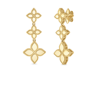 18KT GOLD DROP EARRINGS