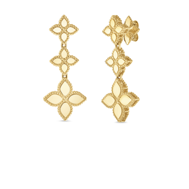 Roberto Coin Drop Earrings &Ndash; 18K Yellow Gold