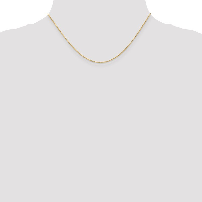 Quality Gold 14K 1mm Round Parisian Wheat Chain