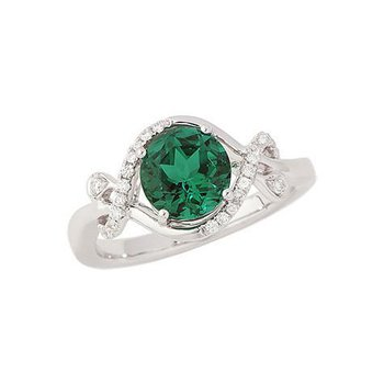 Emerald Ring-CR8234WEM