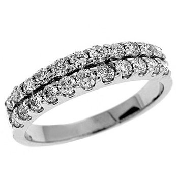 Diamond Prong Set Band