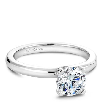 Noam Carver Modern Engagement Ring B012-02A