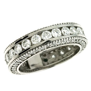 White Gold Eternity Ring