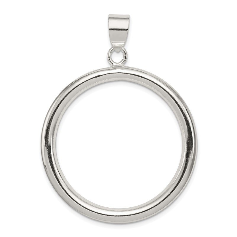 Quality Gold Sterling Silver Circle Pendant