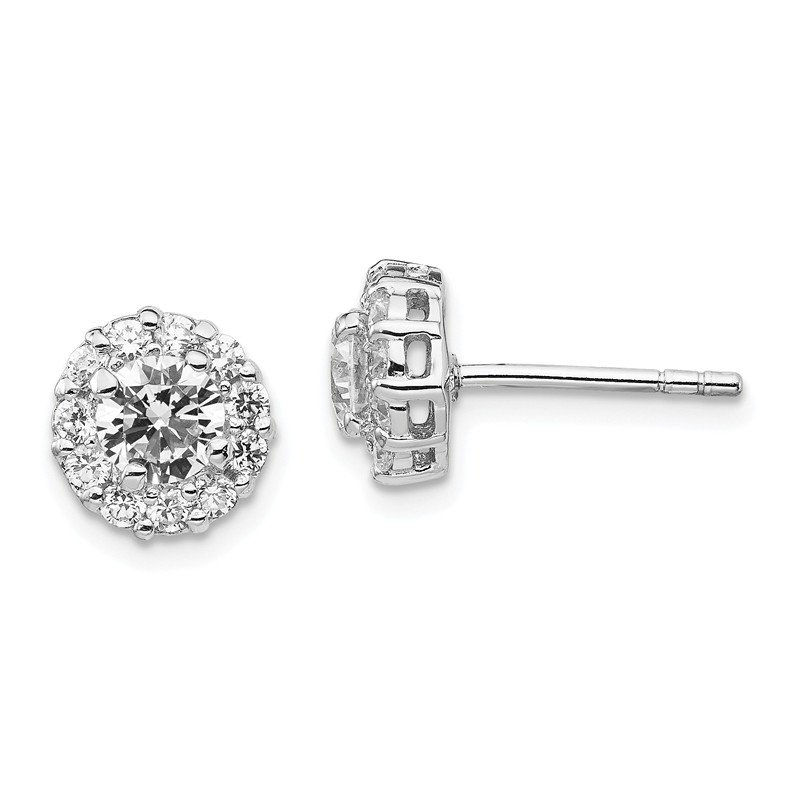 Cheryl M Cheryl M Sterling Silver CZ Stud Earrings