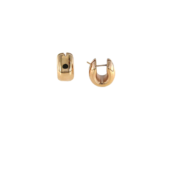 18Kt Gold Huggie Earrings