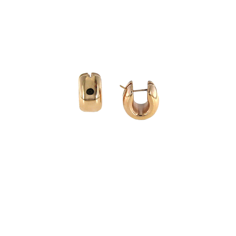 Roberto Coin 18Kt Gold Huggie Earrings
