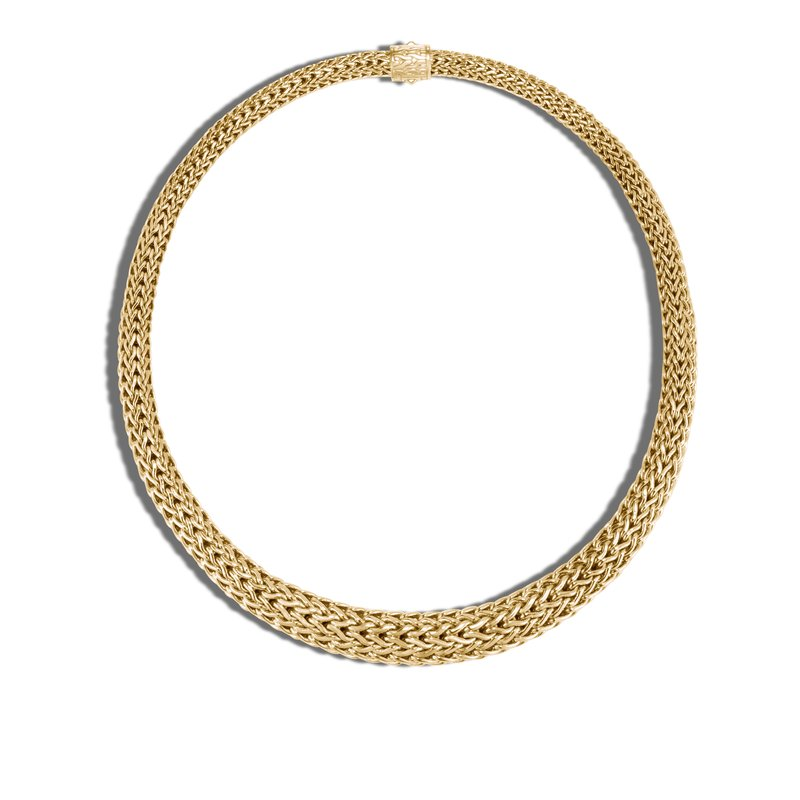 JOHN HARDY Classic Chain 13MM Graduated Necklace in 18K Gold