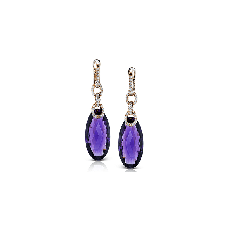 Zeghani ZE458 COLOR EARRING