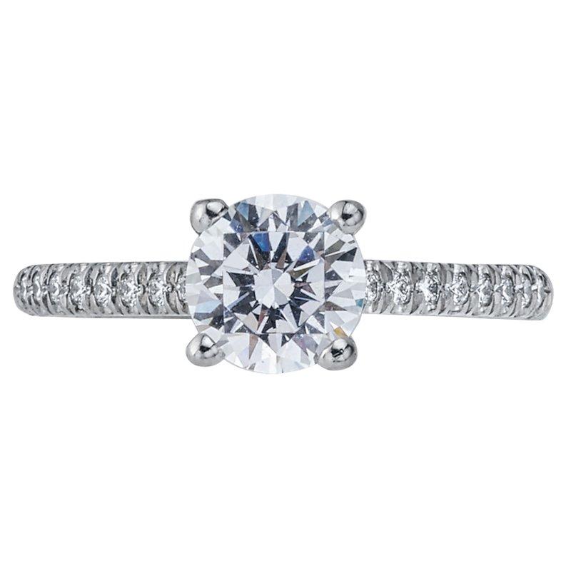 David Harvey Jewelers: Mark Patterson Diamond Engagement Ring