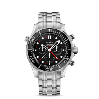 Seamaster Diver 300M Co-Axial GMT Chronograph 44 mm