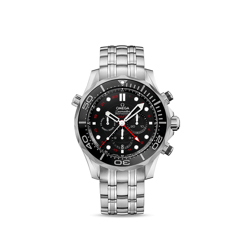 Omega Seamaster Diver 300M Co-Axial GMT Chronograph 44 mm