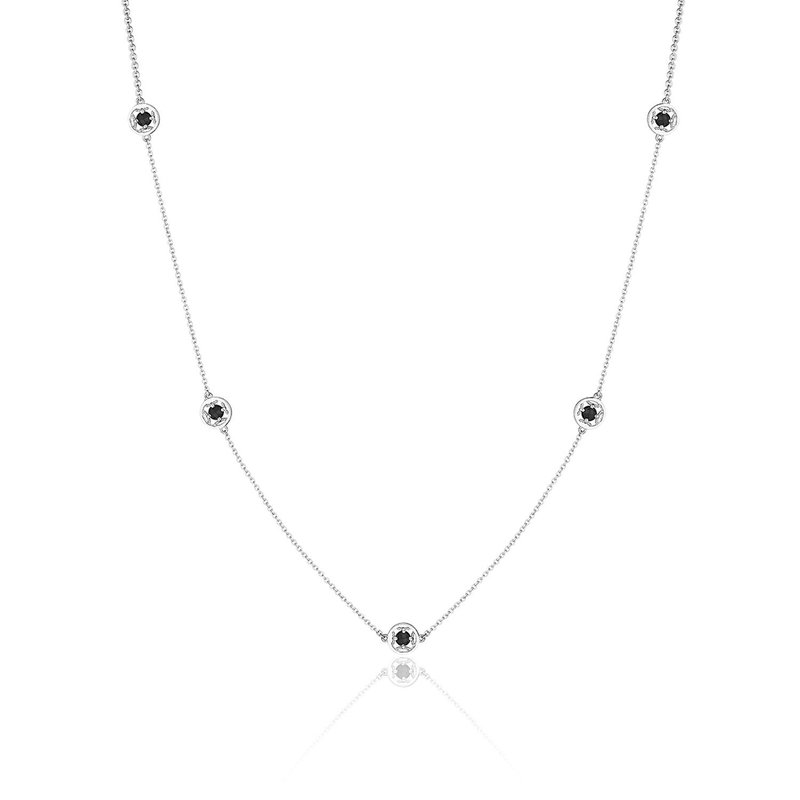 Tacori Fashion 5-Station Petite Gemstone Necklace with Black Onyx