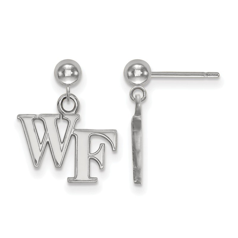 NCAA Gold Wake Forest University NCAA Earrings