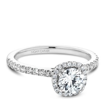 Noam Carver Modern Engagement Ring B142-06A