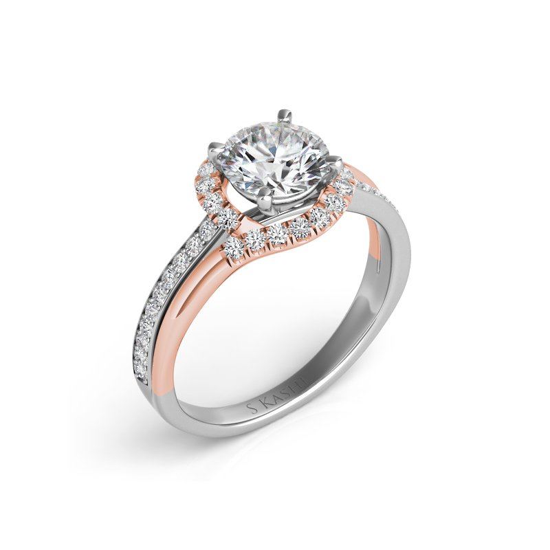 S. Kashi & Sons Bridal Palladium & Engagement Ring