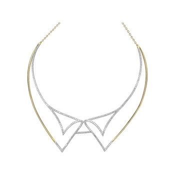 Diamond Fashion Necklace - FDNK1269YW