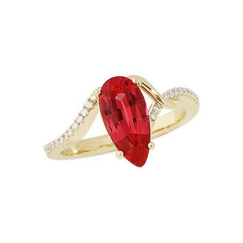 Padparadscha Ring-CR8231YPD