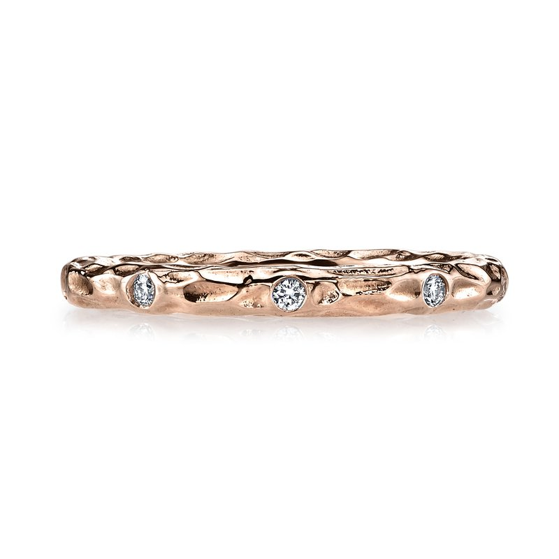 MARS Jewelry MARS 25681RG Stackable Ring, 0.13 Ctw.