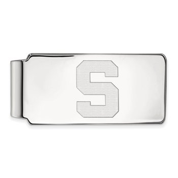 Gold Michigan State University NCAA Money Clip