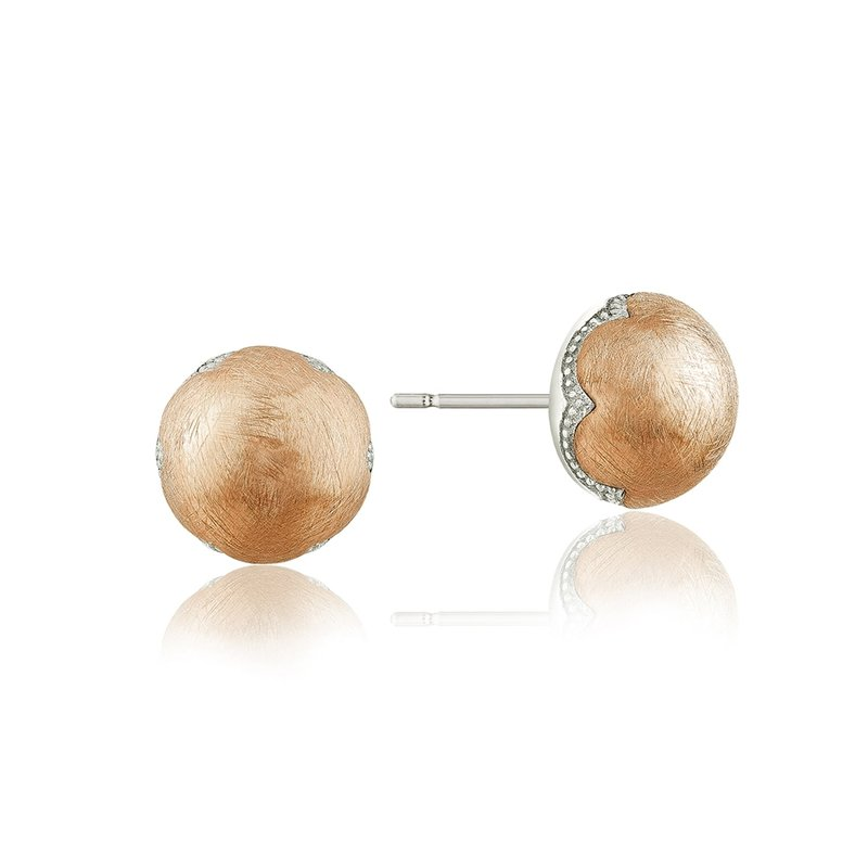 Tacori Fashion Polished Brushed Studs