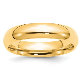 14k 5mm Comfort-Fit Band