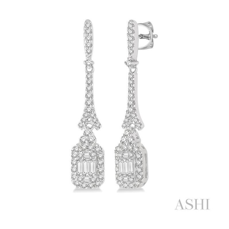 Barclay's Signature Collection fusion diamond earrings