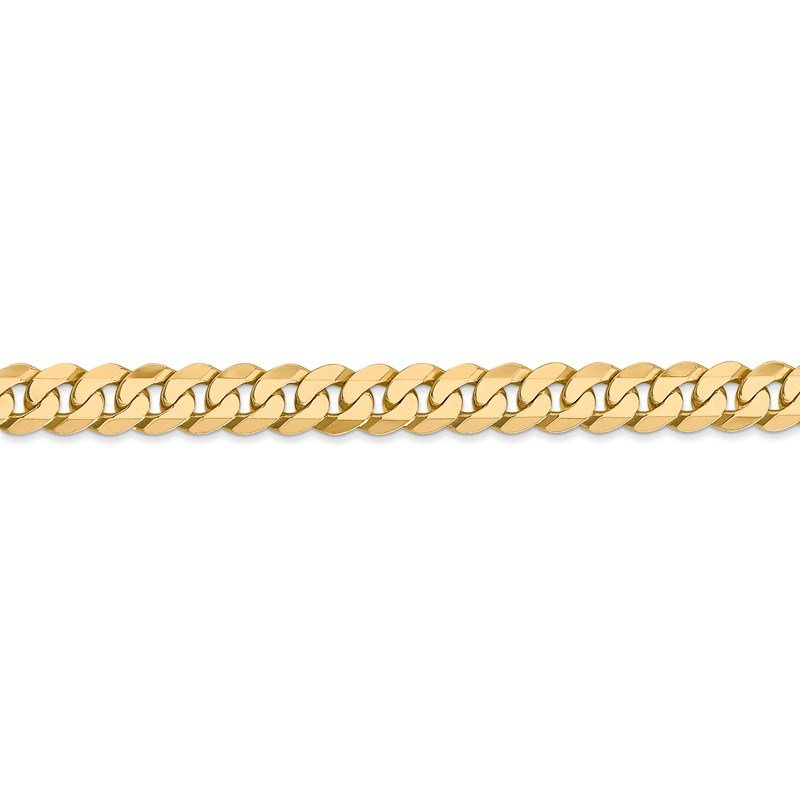Leslie's Leslie's 14K 6.1mm Flat Beveled Curb Chain