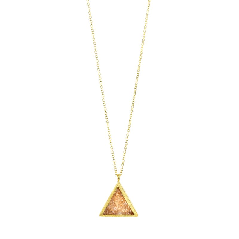 Nina Nguyen Trio Gold Necklace