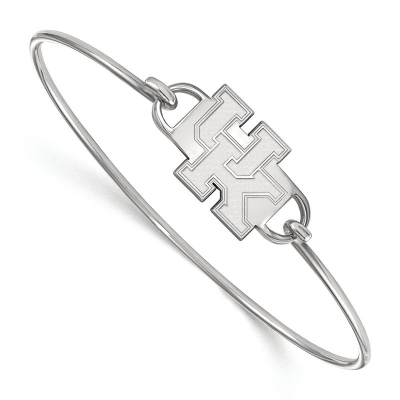 Ncaa Sterling Silver University Of Kentucky Bracelet