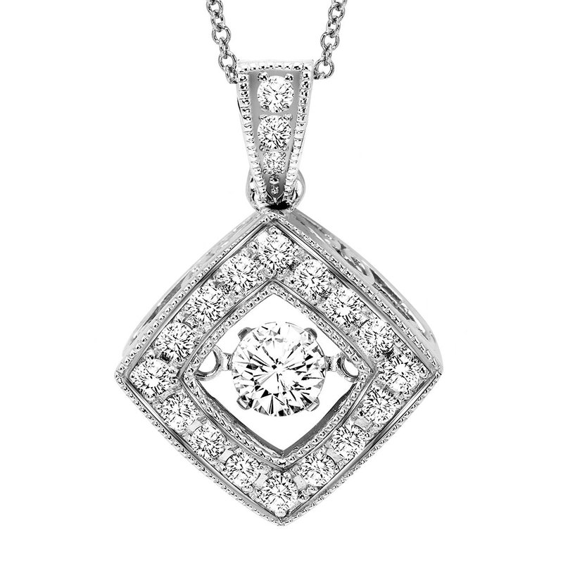 Arizona diamond center rhythm of love 14k diamond rhythm of love rhythm of love 14k diamond rhythm of love pendant 13 ctw aloadofball Images